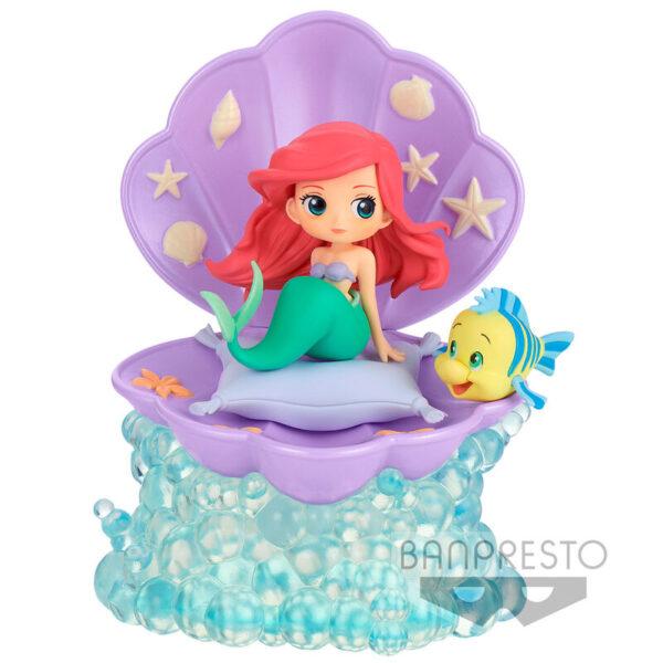 Ariel Disney Characters Q Posket B 12cm