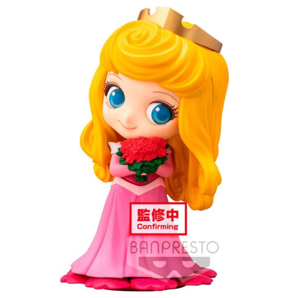 Aurora La Bella Durmiente Disney Q Posket A 10cm