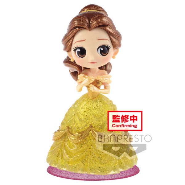 Bella La Bella y la Bestia Disney Characters Glitter Q Posket 14cm