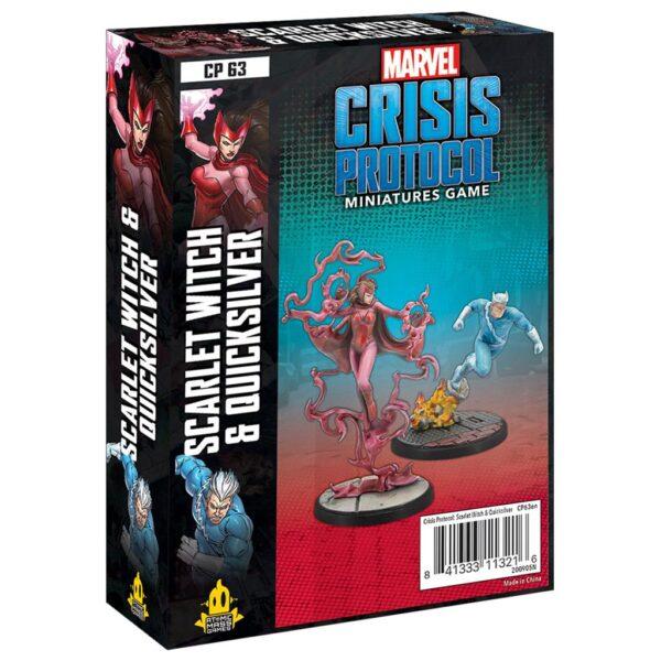 Crisis Protocol Scarlet Witch & Quicksilver (EN)