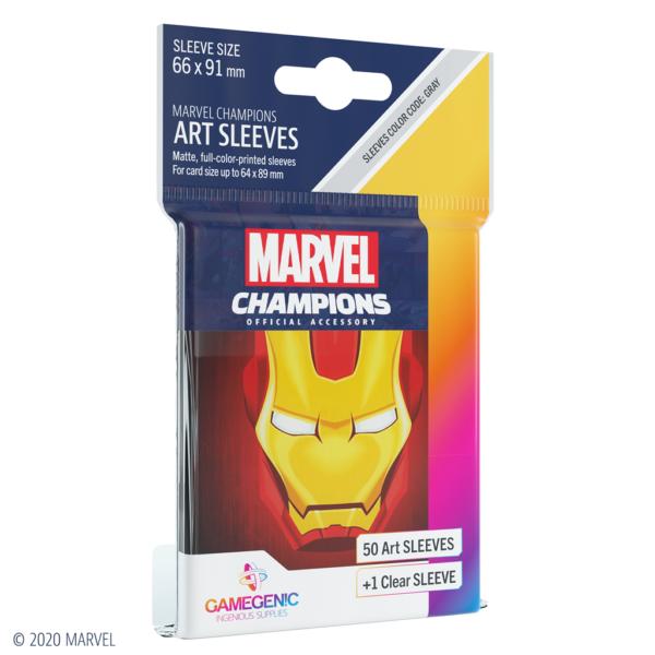 Fundas Marvel Champions de  Iron Man (51 uds)