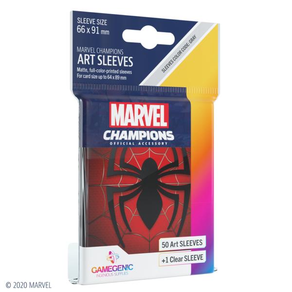 Fundas Marvel Champions de  Spider-Man (51 uds)