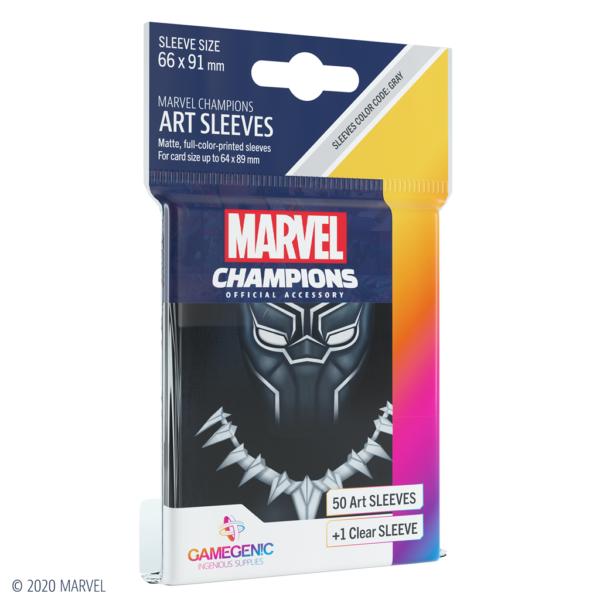 Fundas Marvel Champions de  Black Panther (51 uds)