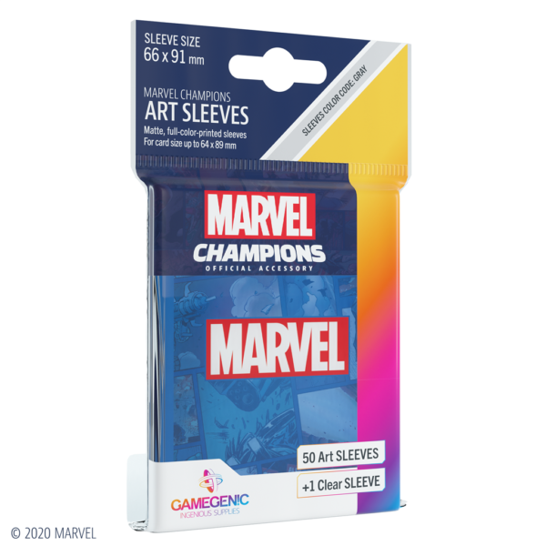 Fundas Marvel Champions de  Marvel Blue (51 uds)