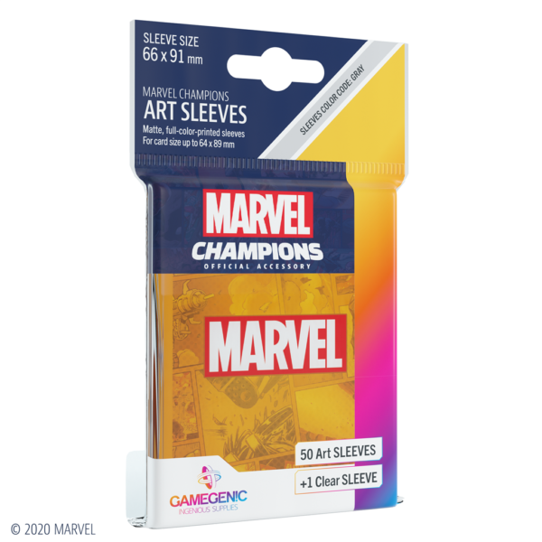 Fundas Marvel Champions de  Marvel Orange (51 uds)