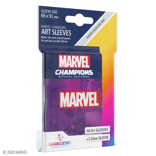 Fundas Marvel Champions de  Marvel Purple (51 uds)