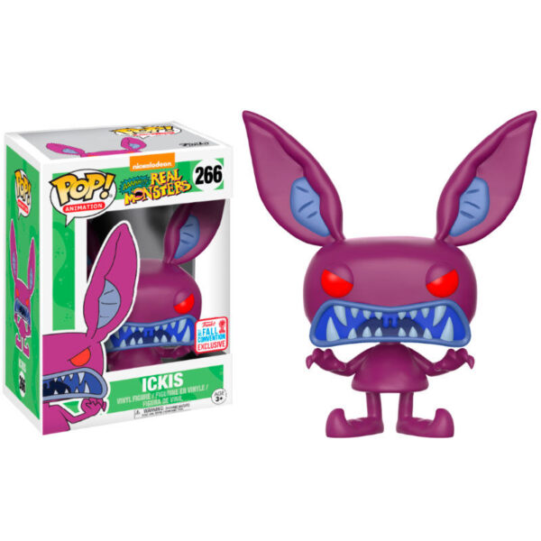 Funko POP Ahh! Real Monsters Ickis 2017 Fall Convention Exclusivo
