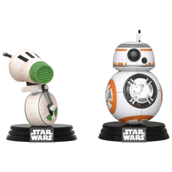 Set 2 figuras POP Star Wars Rise of Skywalker D-O and BB-8 Exclusivo