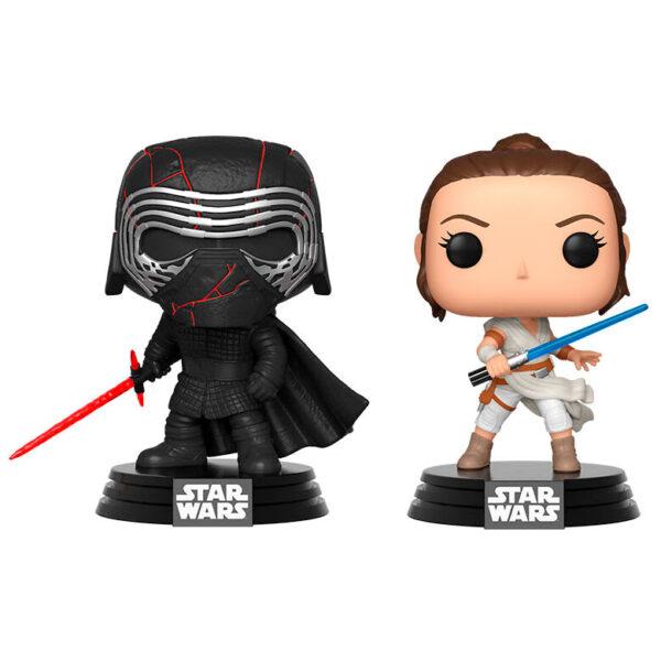Set 2 figuras POP Star Wars Rise of Skywalker Kylo and Rey Exclusivo