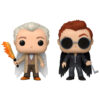 Set 2 figuras POP Good Omens Aziraphel and Crowley with Wings