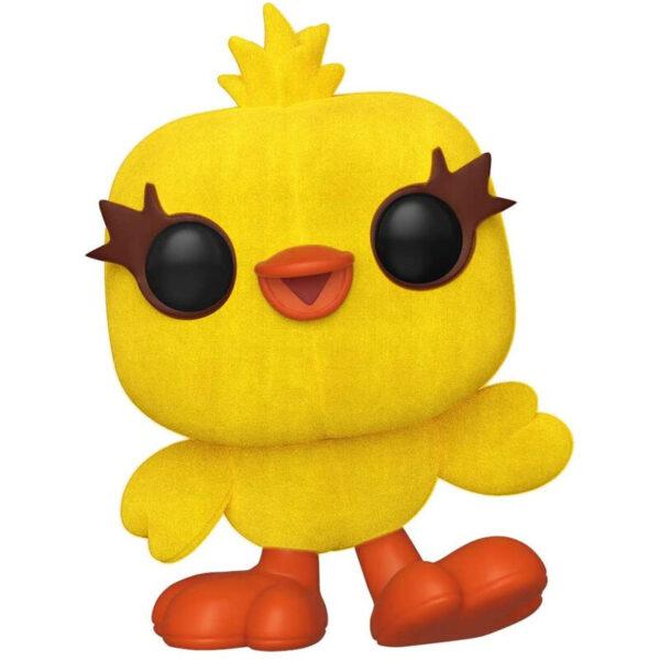 Funko POP Disney Toy Story 4 Ducky Flocked Exclusivo