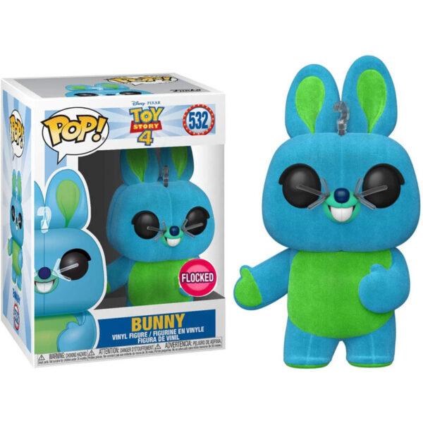 Funko POP Disney Toy Story 4 Bunny Flocked Exclusivo