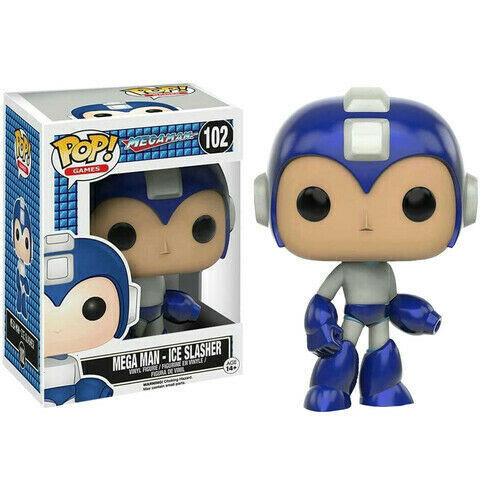Funko POP Mega Man Ice Slasher Exclusivo