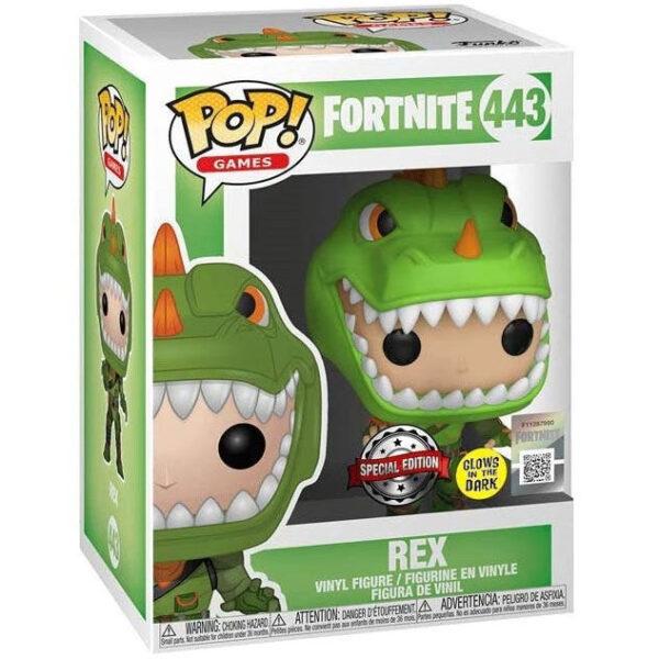 Funko POP Fortnite Rex Exclusivo