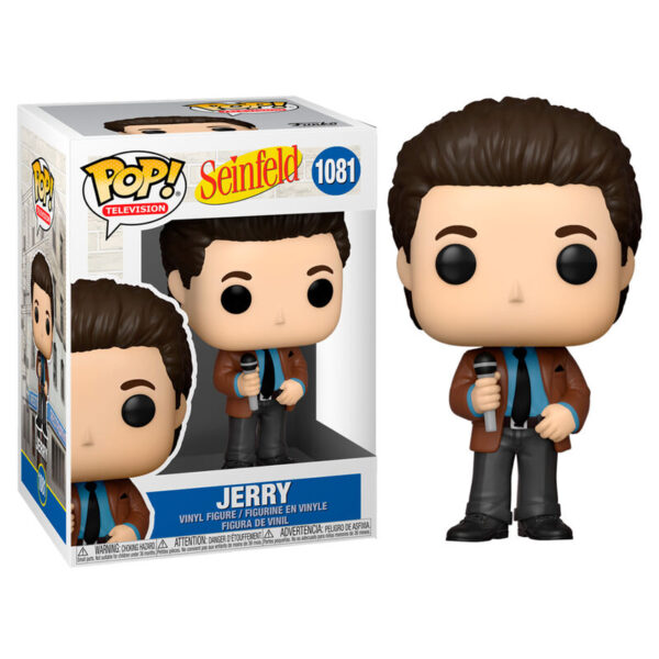 Funko POP Seinfeld Jerry doing Standup