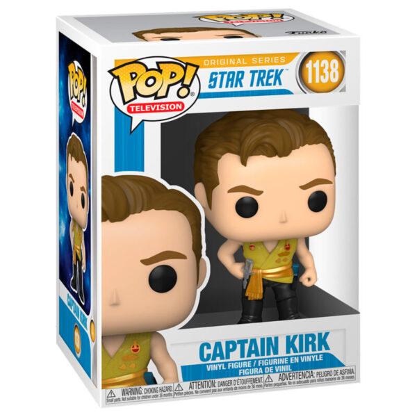 Funko POP Star Trek Kirk Mirror Mirror Outfit