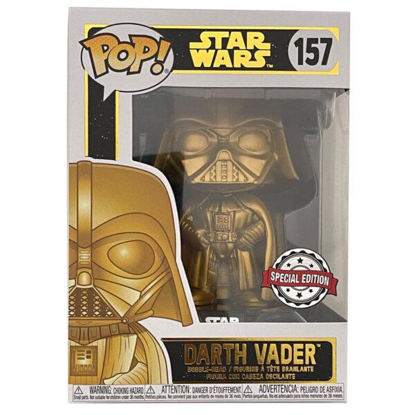 Funko POP Star Wars Darth Vader Gold Metallic Exclusivo