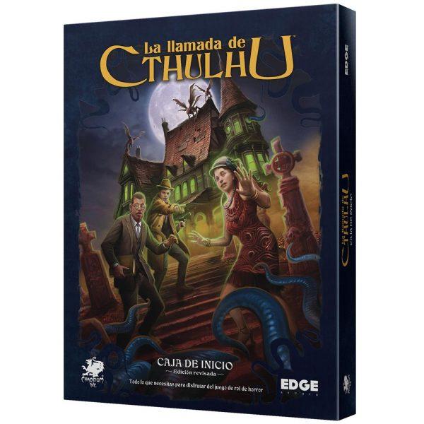 Caja de inicio: La llamada de Cthulhu Ed revisada – La llamada de Cthulhu (JDR)