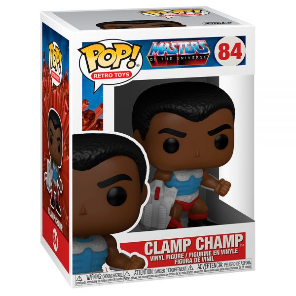 Funko POP Masters Of The Universe Clamp Champ