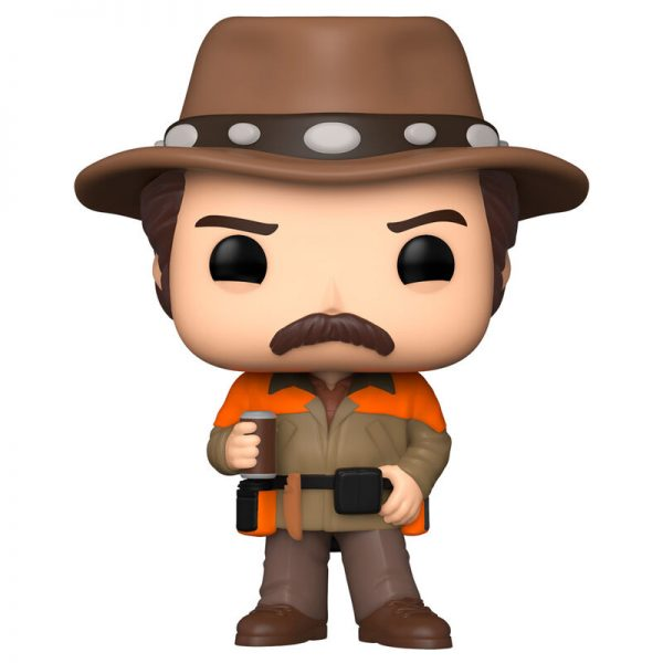 Funko POP Parks and Rec Hunter Ron