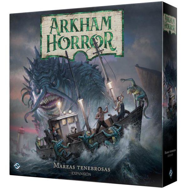Mareas tenebrosas – Arkham Horror Boardgame