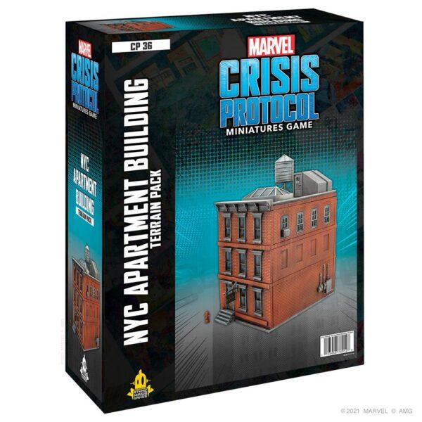 Crisis Protocol NYC Apartment Building Terrain (EN)
