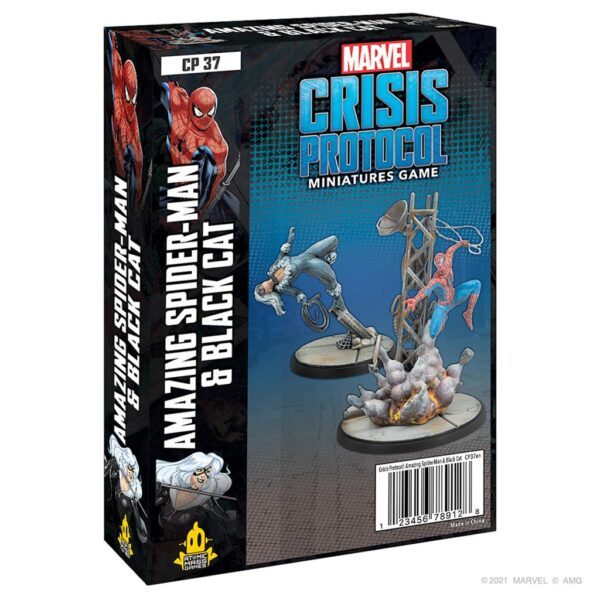 Crisis Protocol Amazing Spider-Man & Black Cat (EN)