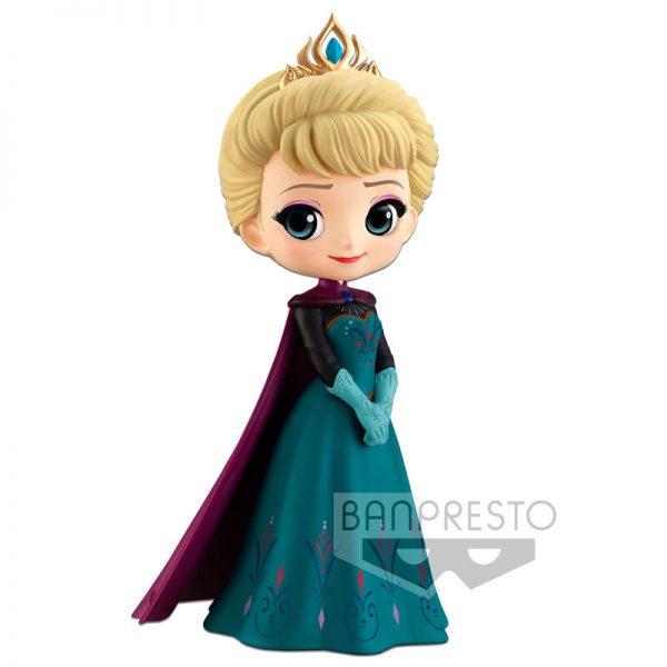 Elsa Coronation Style Frozen Disney Characters Q Posket 14cm