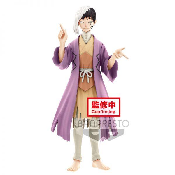 Gen Asagiri Stone World Gen Asagiri and Senku Ishigami Dr. Stone 18cm