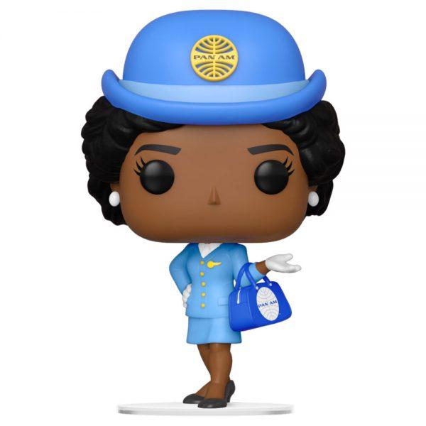 Funko POP Pan Am Stewardess with Blue Bag