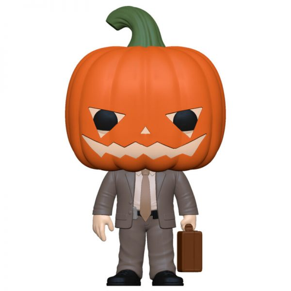 Funko POP The Office Dwight with Pumpkinhead