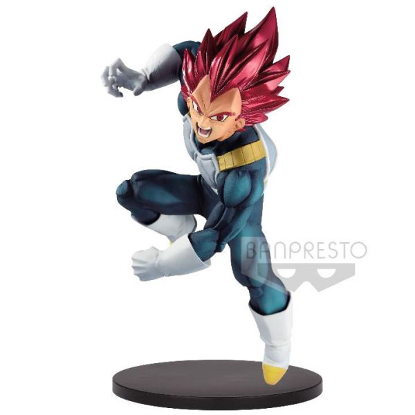 Super Saiyan God Vegeta Dragon Ball Super Bood of Saiyans Special VII 20cm