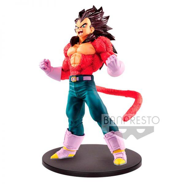 Super Saiyan Vegeta Metallic Hair Color Blood of Saiyans Dragon Ball GT 20cm