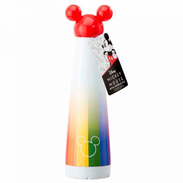 Botella metal Mickey Rainbow Disney