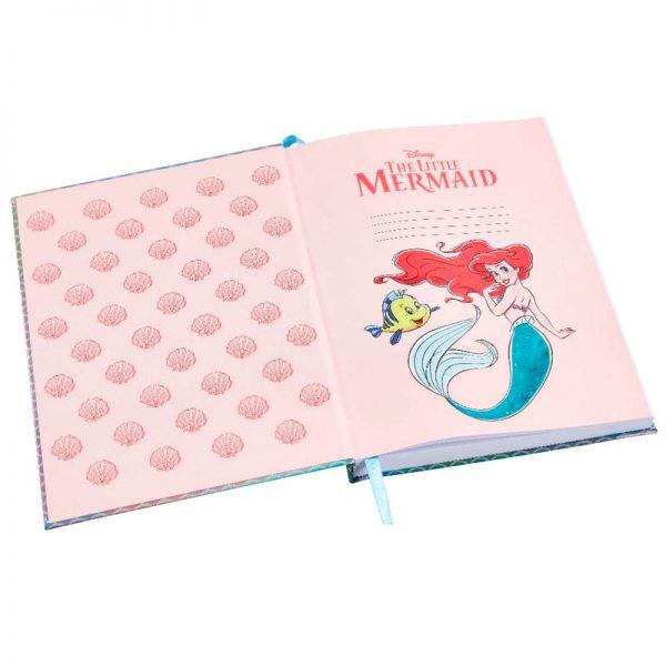 Cuaderno + boligrafo La Sirenita Disney