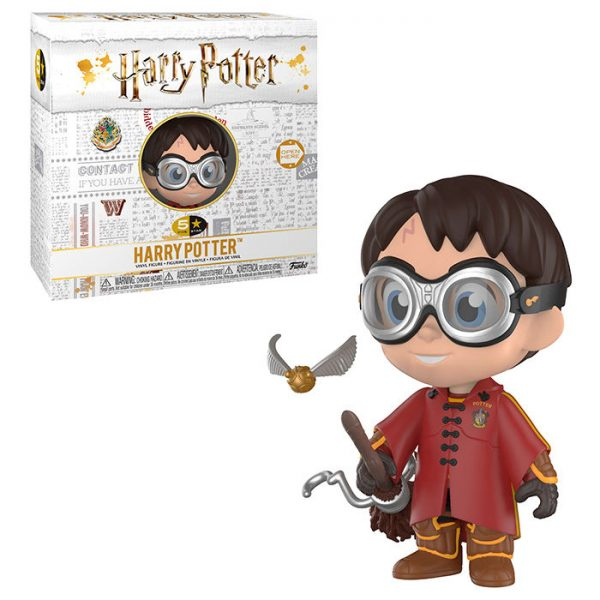 5 Star Harry Potter Harry Quidditch vinyl Exclusivo