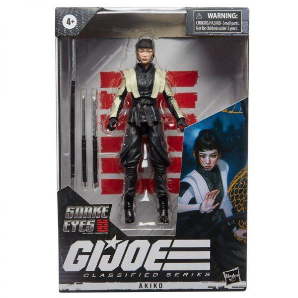 Akiko 18 G.I. Joe Classified Series – Snake Eyes: G.I. Joe Origins 15cm