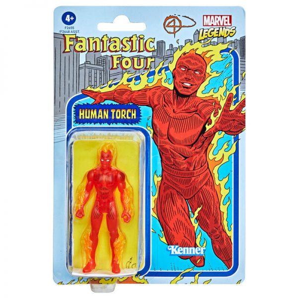 Antorcha Humana Los 4 Fantasticos Marvel 9,5cm