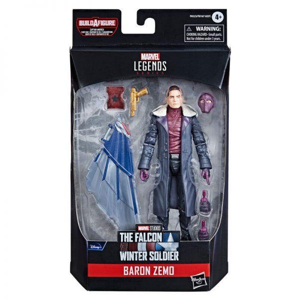 Baron Zemo Falcon y el Soldado de Invierno Marvel 15cm