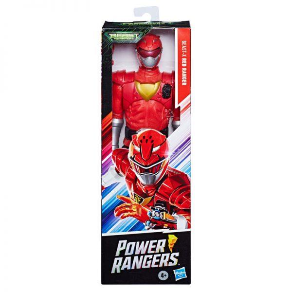 Beast-X Mode Ranger Rojo Power Rangers Beast Morphers 30cm
