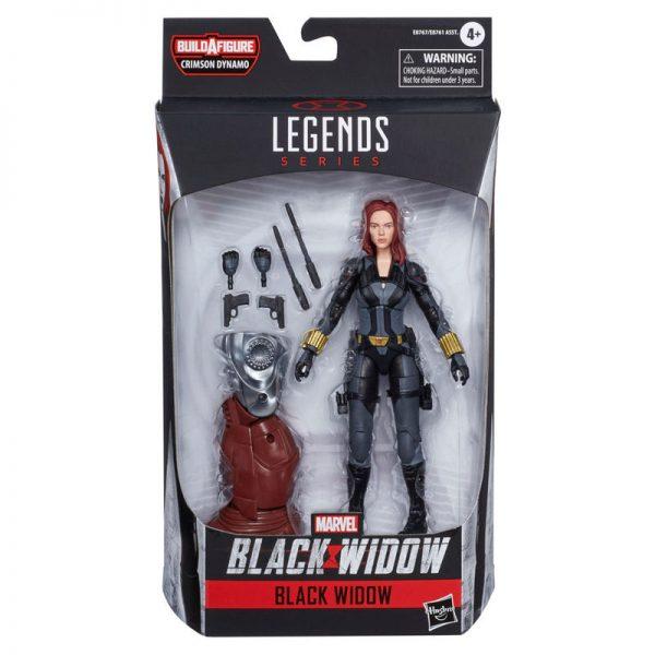 Black Widow Legends Series Marvel