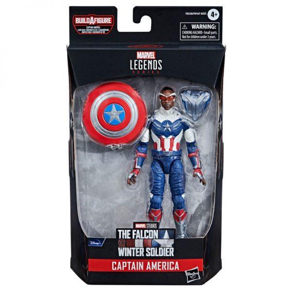 Capitan America Falcon y el Soldado de Invierno Marvel 15cm