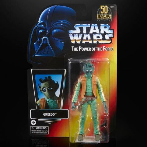 Greedo The Power of the Force Star Wars 15cm