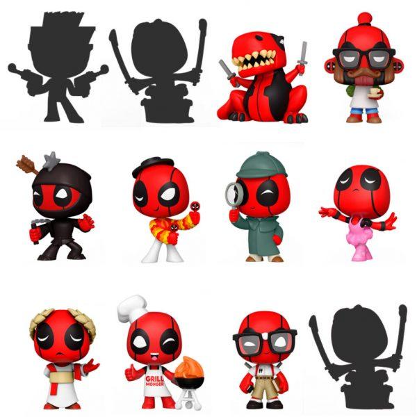 Mystery Minis Marvel Deadpool 30th