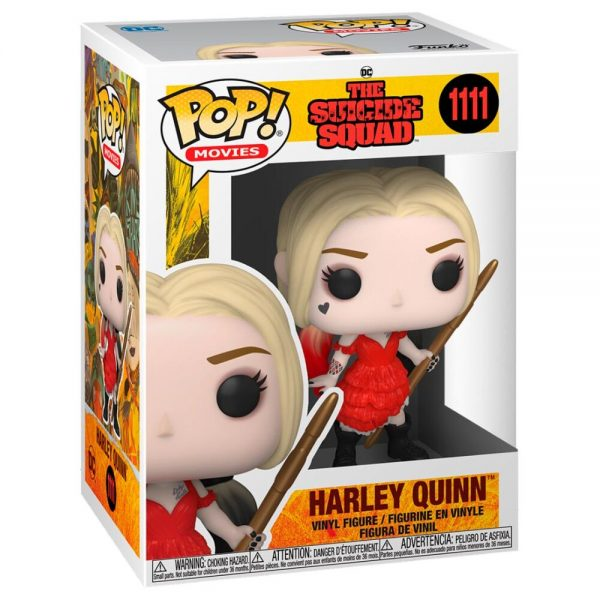 Funko POP DC The Suicide Squad Harley Quinn Damaged Dress