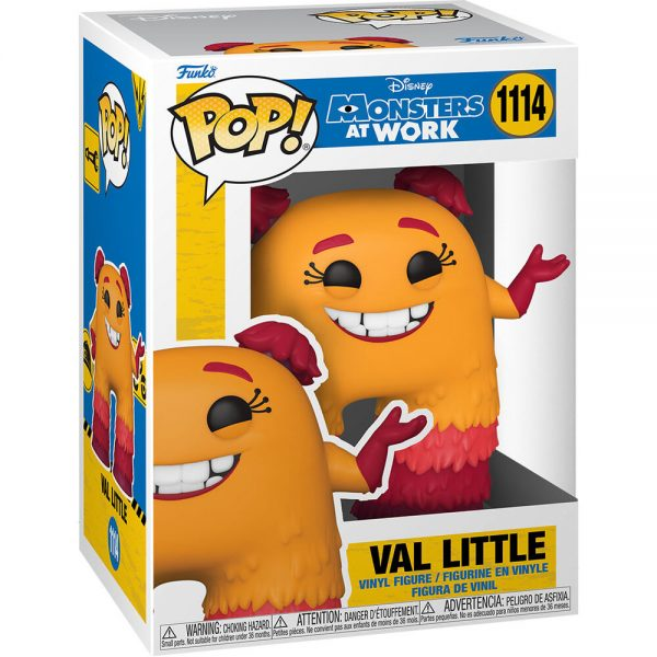 Funko POP Disney Monsters at Work Val Little