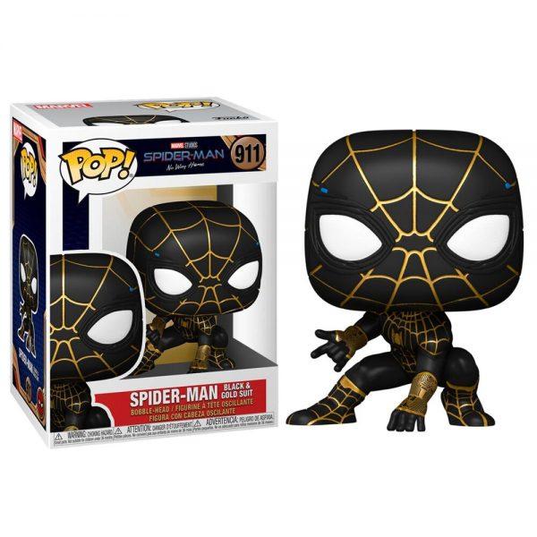 Funko POP Marvel Spiderman No Way Home Spiderman Black & Gold Suit