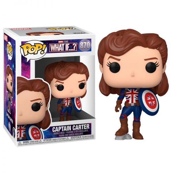 Funko POP Marvel What If Captain Carter