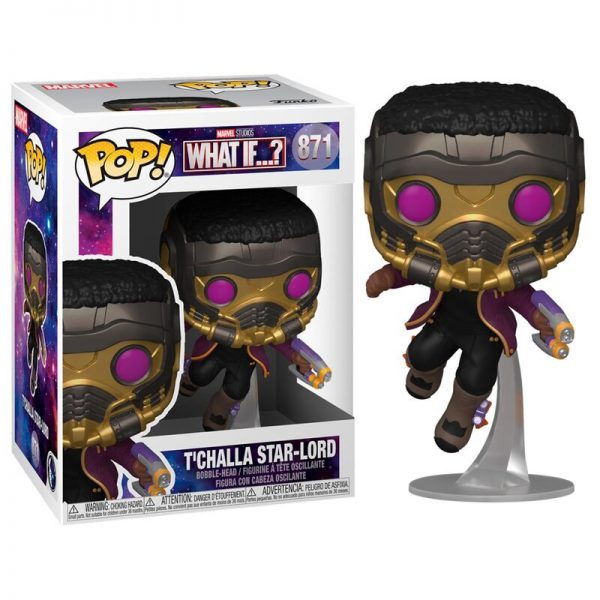 Funko POP Marvel What If T'Challa Star-Lord
