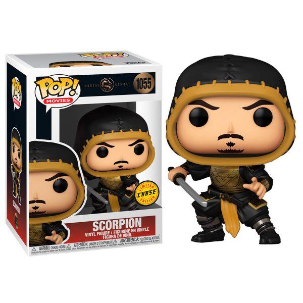 Funko POP Mortal Kombat Scorpion Chase